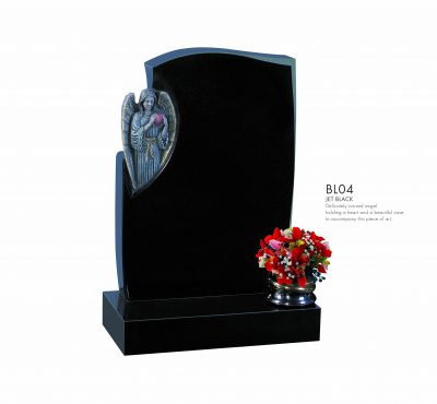 BELLE LAPIDI Carved Angel Memorial - BL04