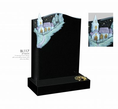 BELLE LAPIDI - Church design with starry sky effect - BL117