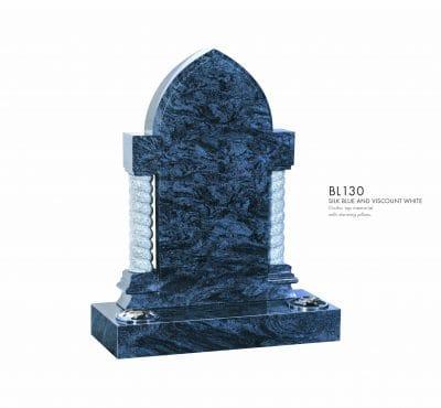 BELLE LAPIDI - Gothic top memorial with pillars
