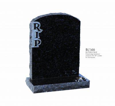 BELLE LAPIDI - Pitched edge memorial RIP - BL146