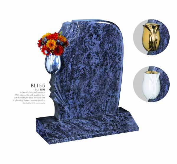 BELLE LAPIDI - Shaped memorial with sparkle effect - BL155