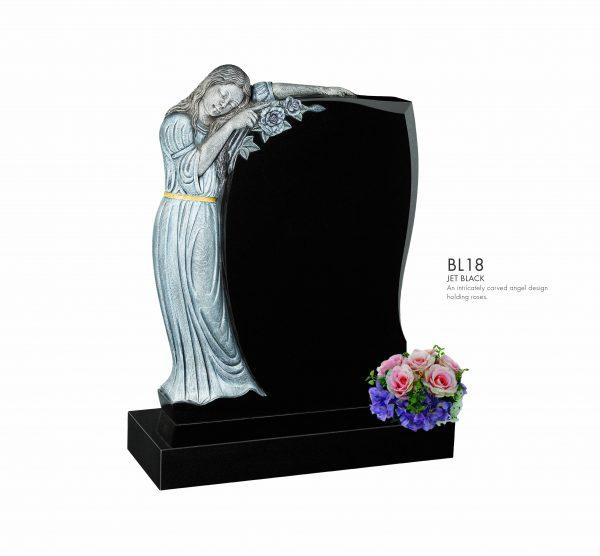 BELLE LAPIDI Carved Angel Memorial - BL18