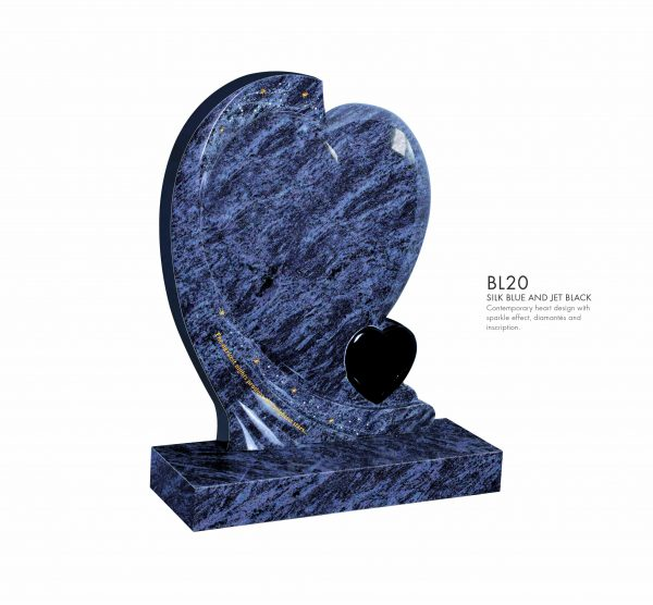 BELLE LAPIDI Double Heart Memorial - BL20