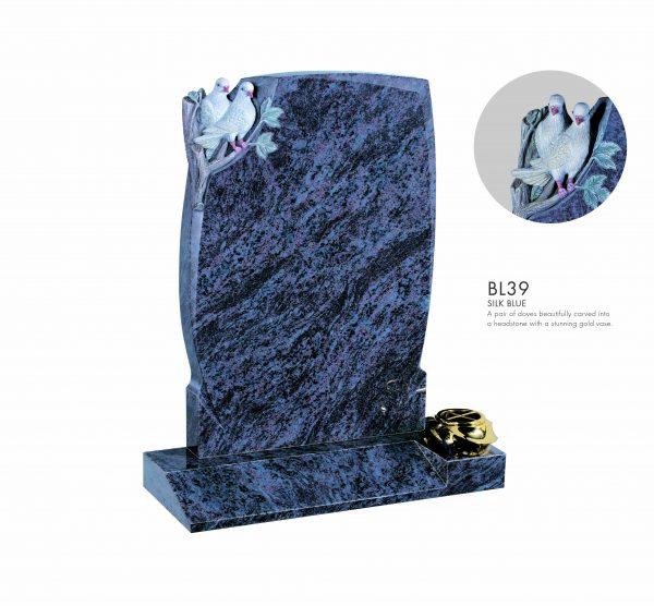 BELLE LAPIDI - Carved dove memorial - BL39
