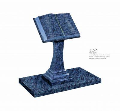BELLE LAPIDI - Book pillar memorial