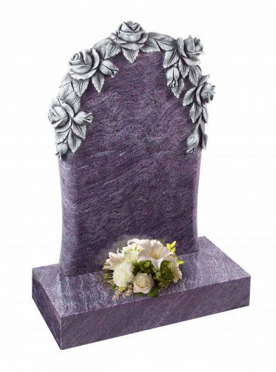 Evermore Carved Rose Memorial - TEC 09