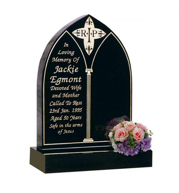 Evermore Gothic Shaped Memorial - TEC 128