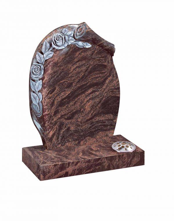Evermore Carved Rose Memorial - TEC 13
