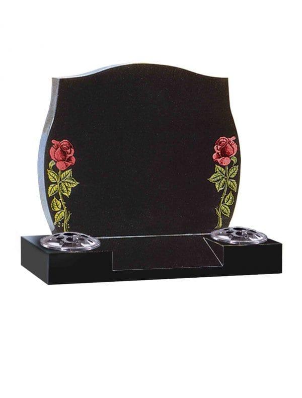 Evermore Painted Rose Cremation Memorial - TEC 133