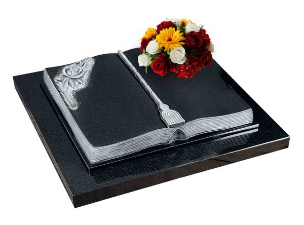 Evermore Curved Book Desk Memorial - TEC 141