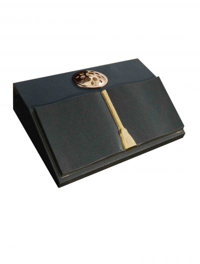 Evermore Curved Page Book Desk Memorial - TEC 142