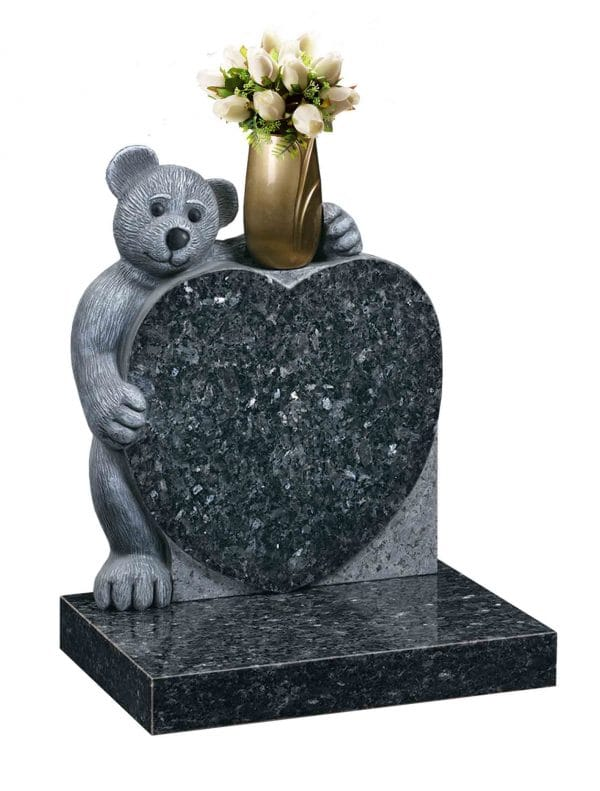 Evermore Carved Teddy Bear Memorial - TEC 152