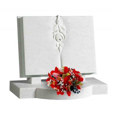 Evermore Marble Book Set Memorial - TEC 165