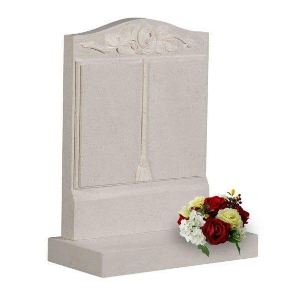 Evermore Roman Stone Book Memorial - TEC 171