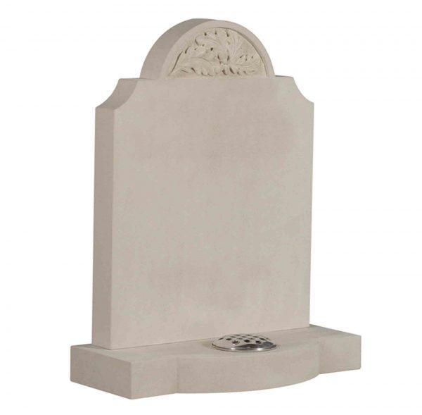 Evermore Portland Stone Shaped Memorial - TEC 176