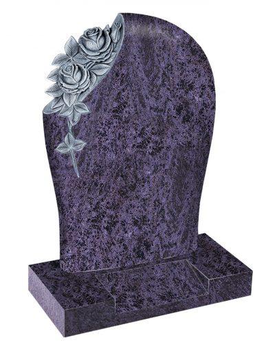 Evermore Carved Rose Memorial - TEC 27