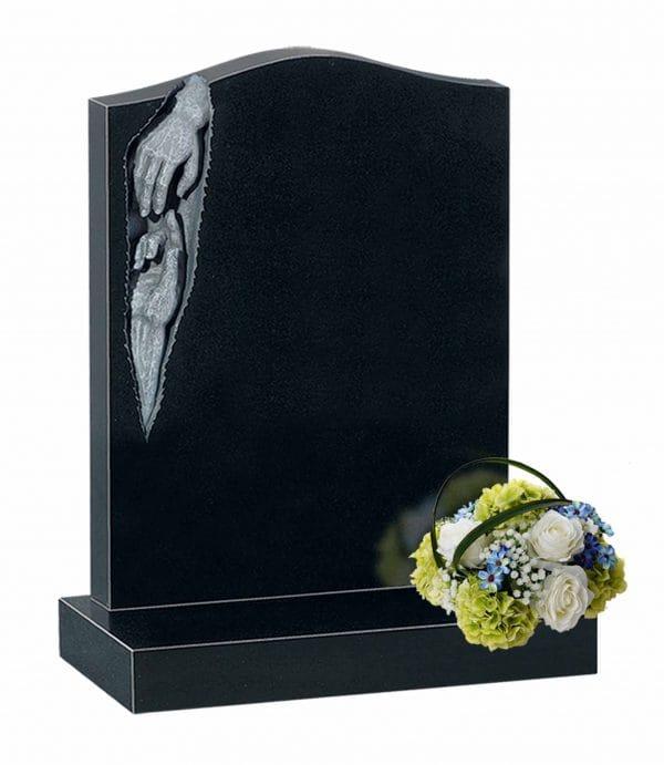 Evermore Carved Hands Memorial - TEC 28