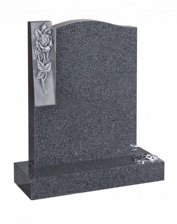 Evermore Carved Rose Memorial - TEC 30