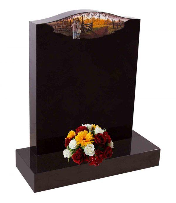 Evermore 3D Couple Gazing Memorial - TEC 74