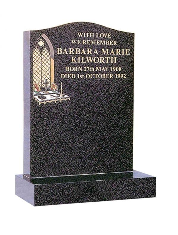 Evermore Church Window Memorial - TEC 79