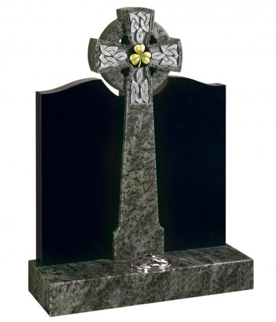 Evermore Celtic Cross with Shamrock - TEC 83