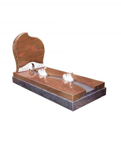 Evermore Swan Family Kerb-set - TEC 98