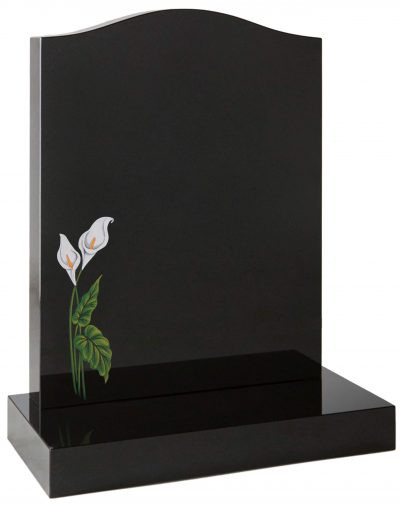 COTSWOLD - Painted lily memorial - 16013