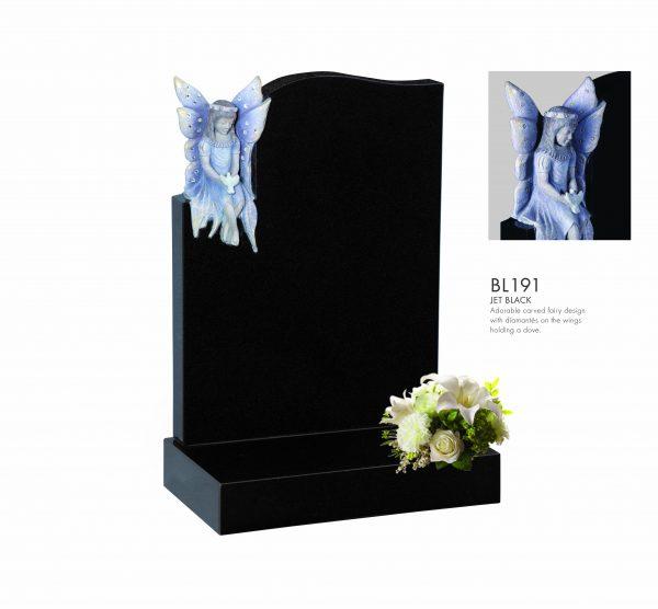 BELLE LAPIDI - Carved fairy memorial - BL191