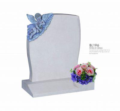 BELLE LAPIDI - Carved cherub memorial - BL196